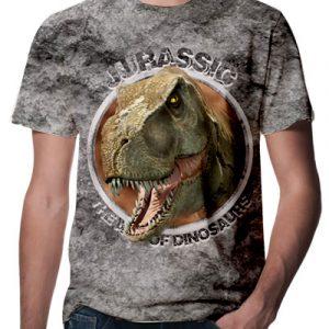 3D Jurassic T-shirt ,Dinozor Tişört